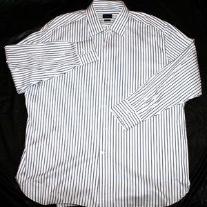 Ermenegildo Zegna Mens Long Sleeve Button Front Dr